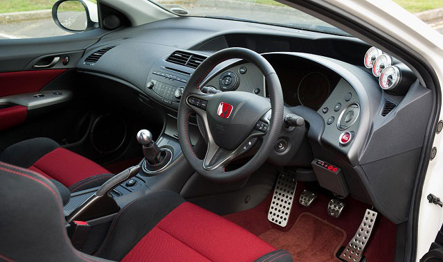 Honda interior Red and Black