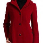 Tommy Hilfiger Hooded Wool Coat
