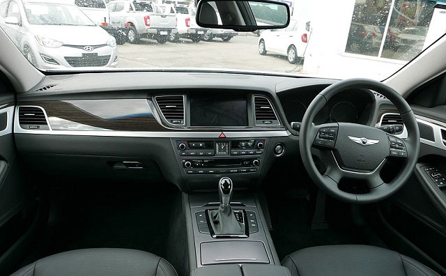 Genesis Cars interior Black