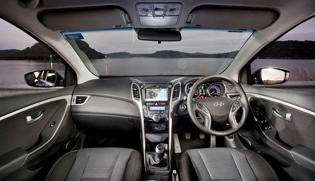 Hyundai Black Interior