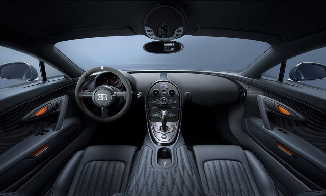 Car interior Black Velvet